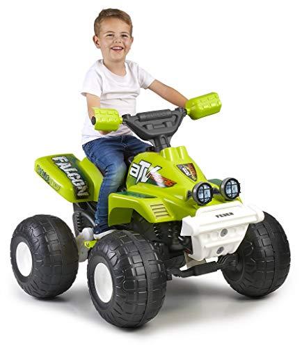 FEBER Falcon - Moto Quad Spielzeugbatterie, für Kinder ab 3 Jahren, 6V (800012510)