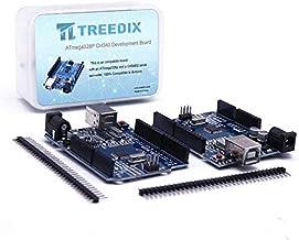 Treedix 2pcs ATmega328P CH340 Development Board Compatible with UNO R3 Board Kit for Arduino Starter