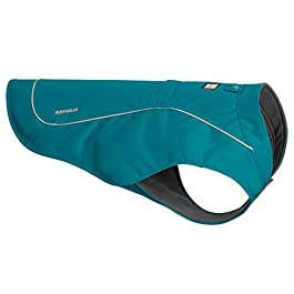 RUFFWEAR Abrasion-Resistant Dog Jacket with Fleece Lining