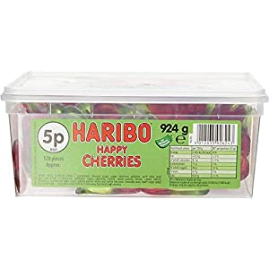 haribo happy cherries (120 pieces) Haribo Happy Cherries (120 pieces) 41y2hQ8uCTL