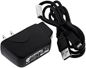 OEM LG (Original) AC Wall Adapter Home Charger w USB Data Cable for Verizon LG enV2