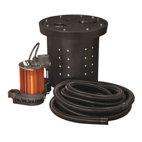 Liberty Pumps CSP-237 Crawl Space 1/3 HP Poly/Aluminum Sump Pump