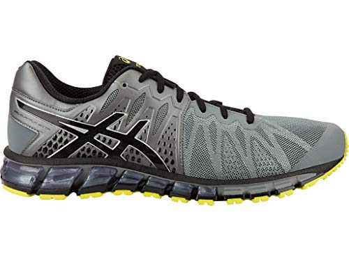 ASICS Men's Gel-Quantum 180 TR Training Shoes, 8M, Monument/Black/Sulpher Spring