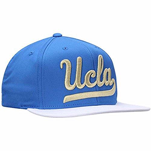 Adidas UCLA - Cappello da uomo con visiera piatta - blu - Taglia unica