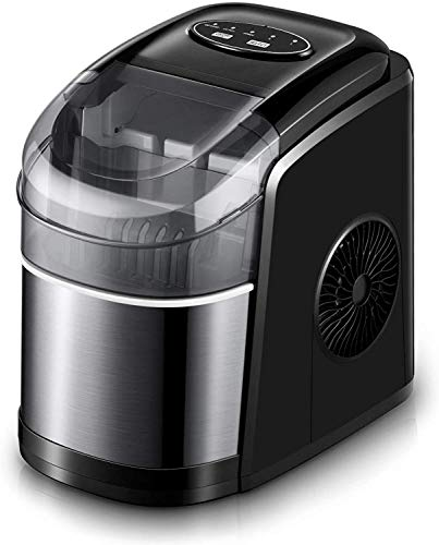 Ice Maker Machine for Countertop, Self-Cleaning Function, 26Lbs/24H...