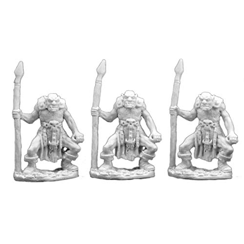 Reaper RM77003 Bones Orc Spearman (3), One Size
