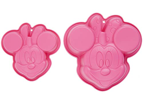 Disney Minnie Maus Silikon-Backform 2er Set
