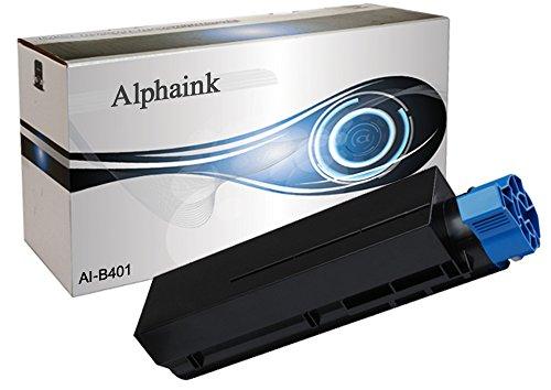 Alphaink AI-O-B401 - Tóner Compatible para Oki B401, 2500 copias al 5%