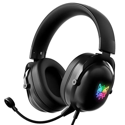 JRD&BS WINL Stereo Gaming Headset,Geeignet FÜR Xbox One,PS4,PS5,PC,Laptop,Mikrofon-Headset, ONIKUMA PS4 Gaming-Headset Mit Mikrofon Mit RauschunterdrÜCkung,Kopfhörer Mit Mikrofon-Headphone