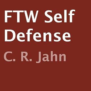 FTW Self Defense audiobook cover art