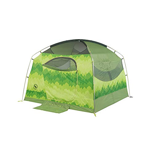 BIG AGNES Big House Deluxe Campingzelt, Unisex, Green Leaf, 4 Person
