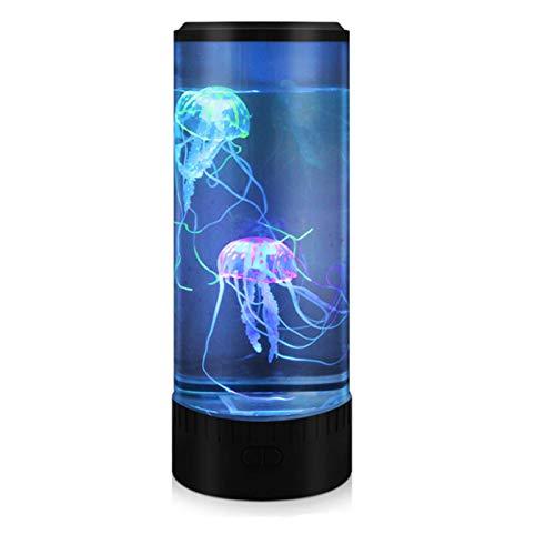 Medusa Lampe LED Aquarium Licht Farbwechsellampe, Wohnzimmer, Büro, Schlafzimmer Dekoration