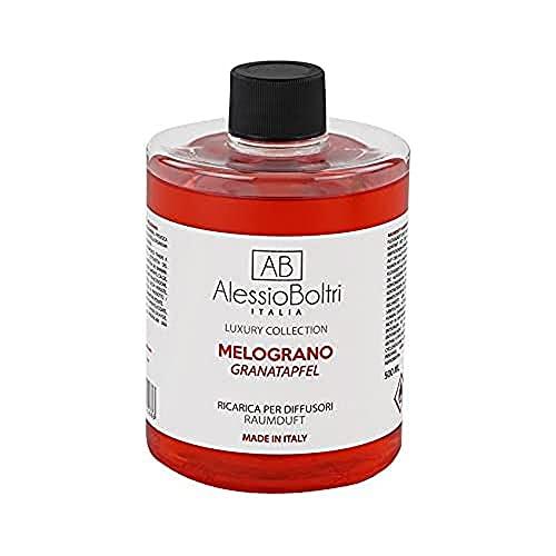 AB Alessio Boltri - Ricarica per diffusori Luxury 500 ml, profumazione Melograno