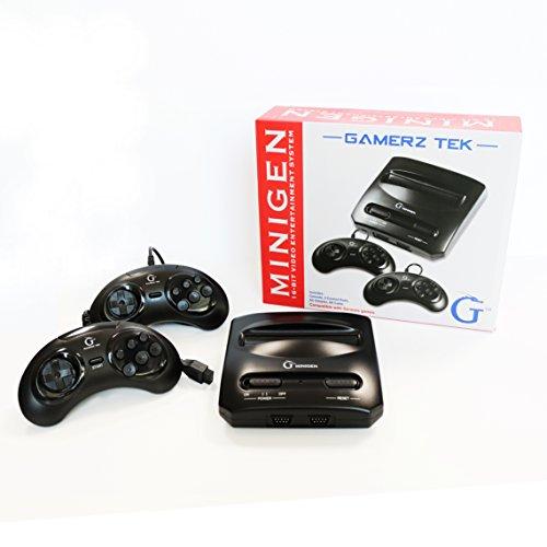 Minigen Video Entertainment System(NO GAMES INCLUDED) Compatible with Sega Genesis & Mega Drive Games Games