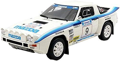 OTTO Mobile ot226 zda RX7 B Rallye Akropolis 1985 Echelle 1 18, Weißblau