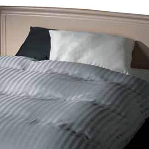 フランスベッド 枕カバー 50×70cm ホワイト 高級ホテル仕様のベッドリネン 日本製 「ホテルズセレクト」サテン ピロケース 360010100