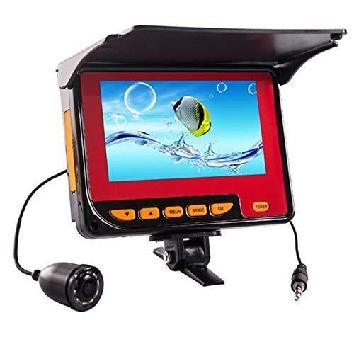 GYAM Buscador Visual De Peces Pantalla LCD De 4.3 Pulgadas Pantalla De Pesca Nocturna Herramienta De Pesca De Mano Kayak Sonda Equipo Portátil De Profundidad De Peces con Transductor De Sonda