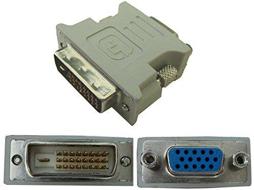KALEA-INFORMATIQUE © - Adaptateur DVI MALE (DVI-D 24+1) / VGA FEMELLE (SUB 15) - POUR DIGITAL VGA UNIQUEMENT - NON COMPATIBLE VGA ANALOGIQUE