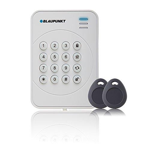 Blaupunkt KPT-S1 Funk-Bedienteil mit RFID-Tag-Reader, inklusive zwei RFID-Tags I kinderleichte Bedienung für Alarmanlagen der SA/Q Serien