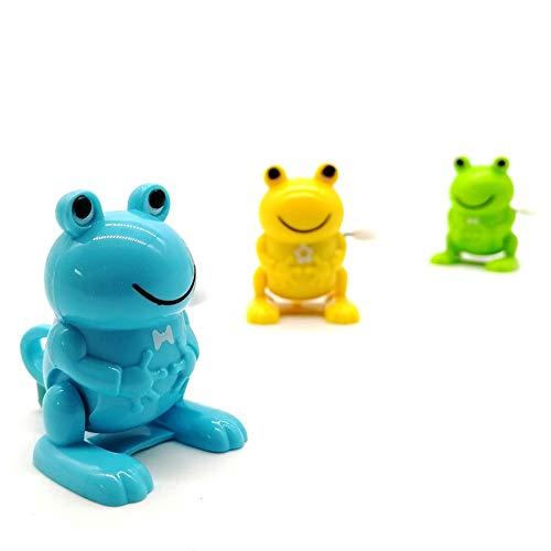 3Pcs Jouets Fun pour Enfants Winding Horloge Flip Frog Inertie Bureau Décompression Vibrant Fun Toy Cadeau d'anniversaire De Noël