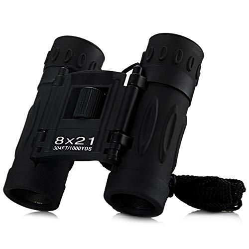 ADDCART 8x21 Compact Zoom Binoculars Long Range 3000m Folding HD Powerful Mini Telescope BAK4 FMC Optics Sports Camping