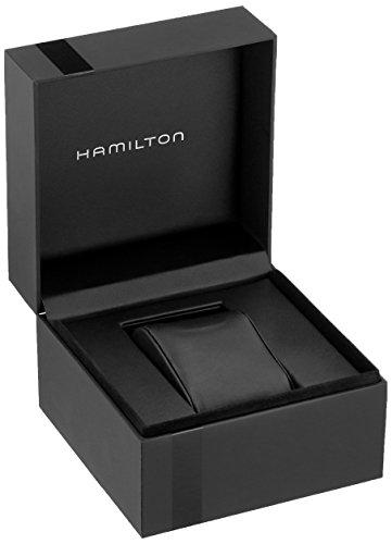 Hamilton Homme Analogique Automatique Montre avec Bracelet en Cuir H70505833