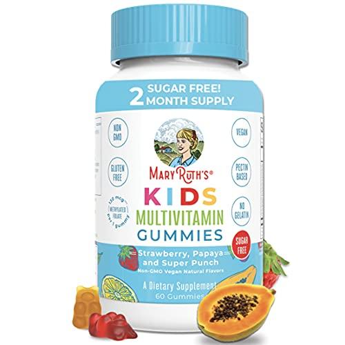 Vegan Kids Multivitamin Gummies by MaryRuth's | 2...