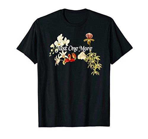 Just One More Orchid Shirt for Orchid Lovers
