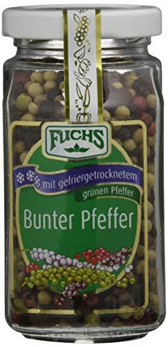 Fuchs Bunter Pfeffer gefriergetrocknet, 2er Pack (2 x 80 g)
