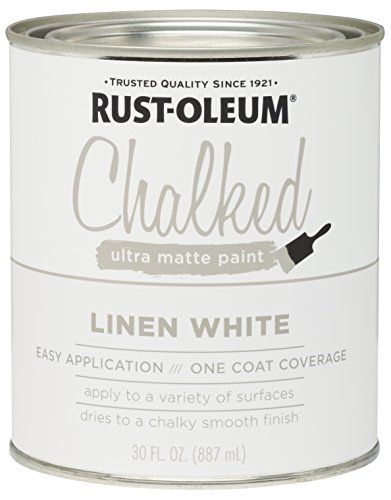 Rust-Oleum 285140 Ultra Matte Interior Chalked Paint 30 oz, Linen...