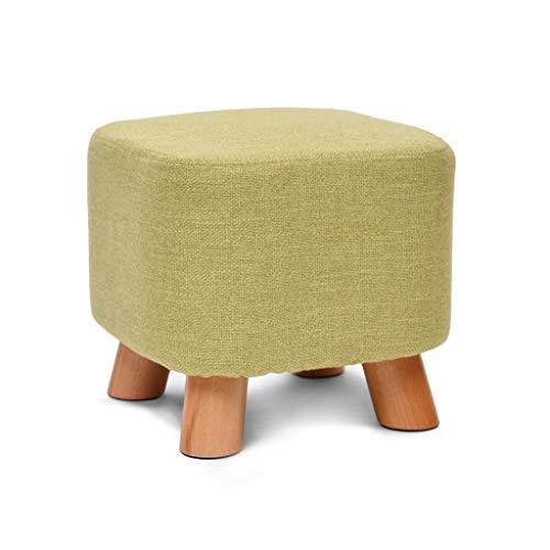 Zitzak, vierkant, gevoerd, massief hout, 4 poten van hout, afneembare overtrek van linnen (kleur: D) Oro rosa + oro rosa