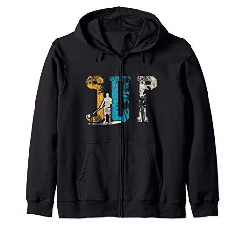 SUP Vintage Gift Stand Up Pagaia per palette Felpa con Cappuccio
