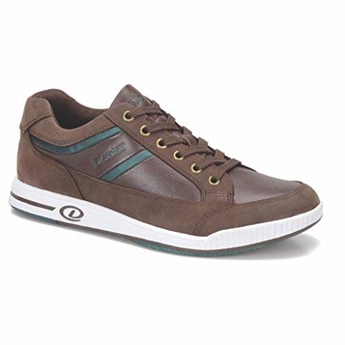 Dexter Keegan Bowling-Schuhe für Herren, rechte Hand, - Braun Grün - Größe: 38.5 EU