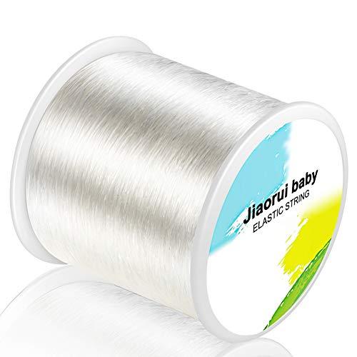 320 FT Jewelry Cord, Elastic Bracelet Rope Crystal...