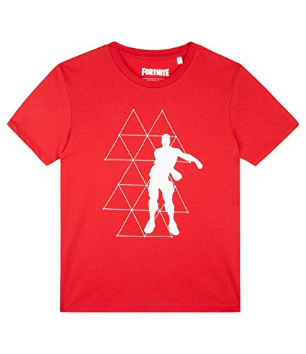 Fortnite Jungen T-Shirt Rot 164