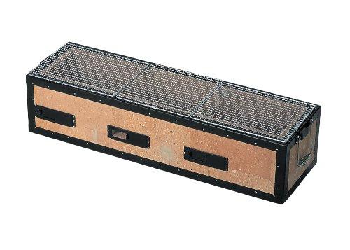 Kinka Diatomite para barbacoa parrilla de carbón vegetal Barbacoa Hibachi estufa 77x 23cm bq8t konro Yakitori japonés