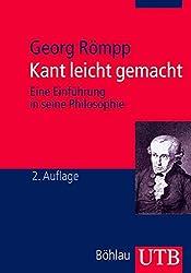 Kant leicht gemacht Einführung Philosophie Studium