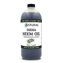 Image of 100% Pure Neem Oil -...: Bestviewsreviews