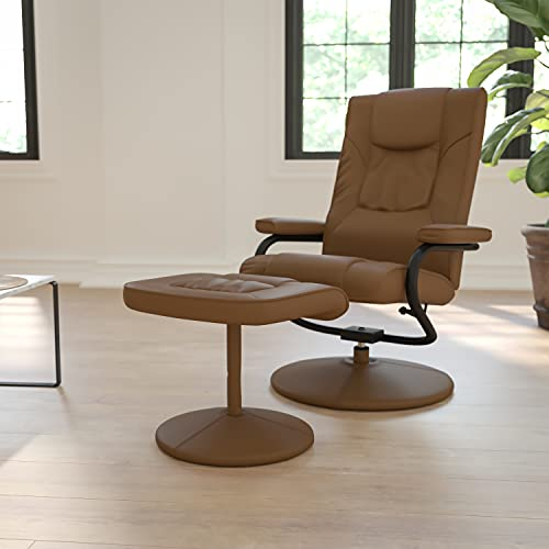 Flash Furniture Palimino Recliner and Ottoman