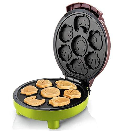 Haushaltswaffelhersteller / Kuchenhersteller, Antihaftplatte für kleine Küchenkuchen, automatische Temperatursteuerung Elektrische Backpfanne, Frühstück / Mittagessen / Nachmittagstee 1000w jederzeit,