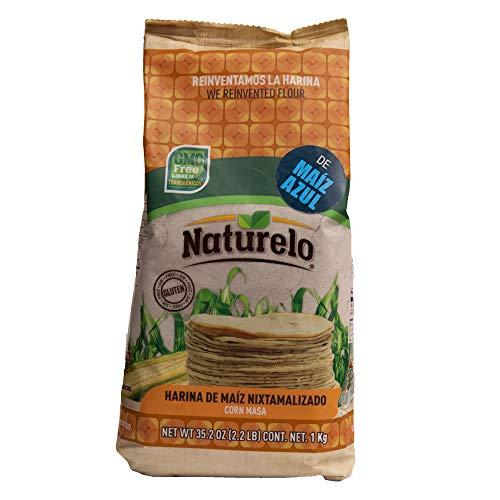 ブルーコーンマサ 1000g 青とうもろこし粉 (ブルーマサ) Harina de maiz nixtamalizado