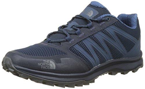 The North Face Litewave Fastpack, Botas de Senderismo para Hombre, Azul (Shady Blue / Zinc Grey), 48 EU