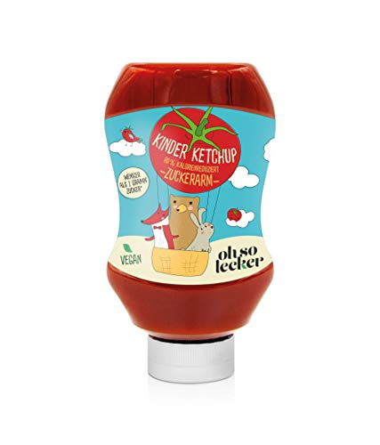 Ohso Lecker Kinderketchup zuckerarm (350g)