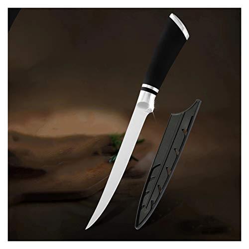 Cuchillo de pescado cuchillo de cocina filete Cuchillos de deshuesado de acero inoxidable de acero inoxidable de alto carbono Accesorios de cocina Cleaver (Kitchen Knife Size : 6 inch)