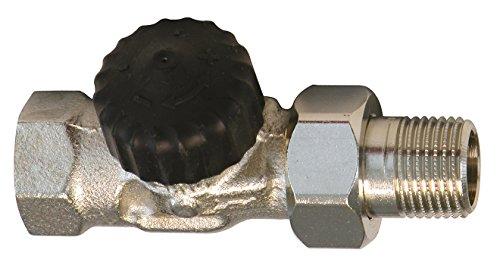 Sanitop-Wingenroth 27117 2 Heimeier Thermostatventil-Unterteil 1/2 Zoll, Durchgangsform-1/2
