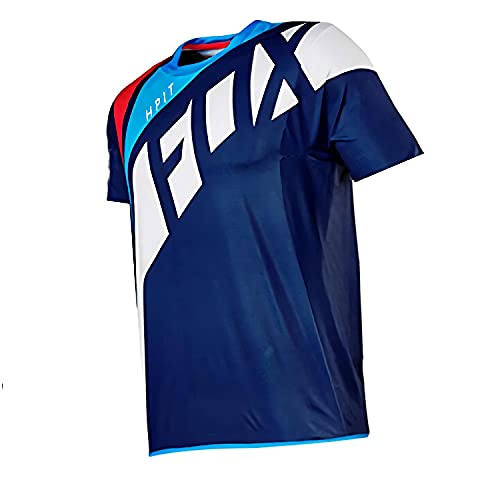Jersey de Bicicleta de montaña Hombres de Manga Larga, Camisas de Descenso Camisas de Bicicleta de montaña MTB Offroad Dh Jersey de Motocicleta Motocross Ropa Deportiva Fxr Jersey 5XL