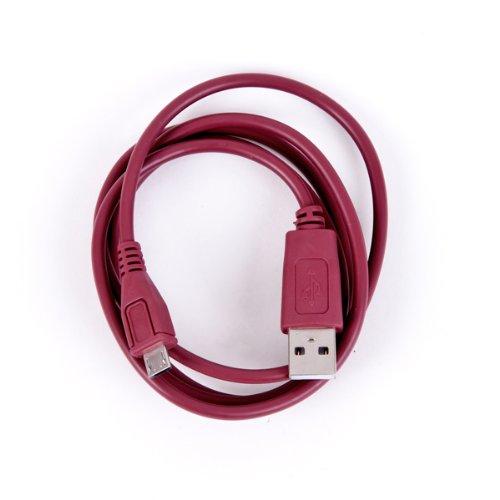 roxs USB Datenkabel für Huawei Y625 in rotbraun