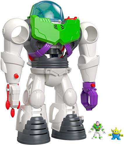 Fisher-Price Imaginext Disney Pixar Toy Story Buzz Lightyear Robot Playset for preschool kids ages 3 years & up