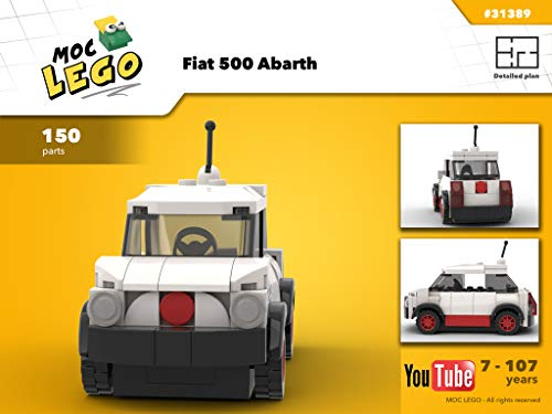Fiat 500 Abarth (Instruction Only): Moc Life (English Edition)