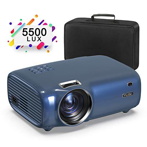 Mini Beaemr, tragbare Videoprojektoren mit 5500 Lumen, 200